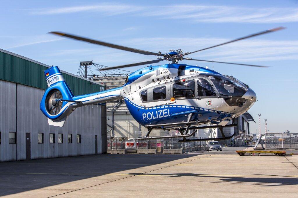 Hubschrauber über Oberhausen